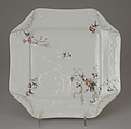 Dish, Haviland & Co. (American and French, 1864–1931), Hard-paste porcelain, French, Limoges