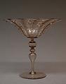 Wineglass, Dr. Antonio Salviati Company, Glass, Italian, Venice (Murano)