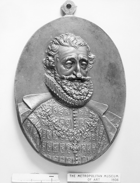 Henry IV, King of France (b. 1553, r. 1589–1610), Medalist: Guillaume Dupré (French, 1579–1640), Bronze, brown patina, French