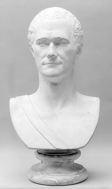 Alexander Hamilton, Giuseppe Ceracchi (Italian, 1751–1802), Plaster, Italian