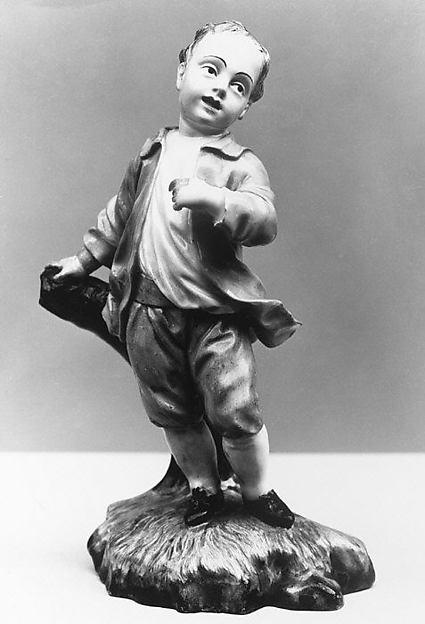 Boy, Höchst Manufactory (German, 1746–1796), Hard-paste porcelain, German, Höchst