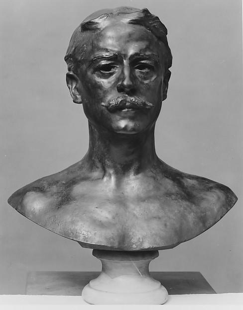 George Wyndham, Auguste Rodin (French, Paris 1840–1917 Meudon), Bronze, French