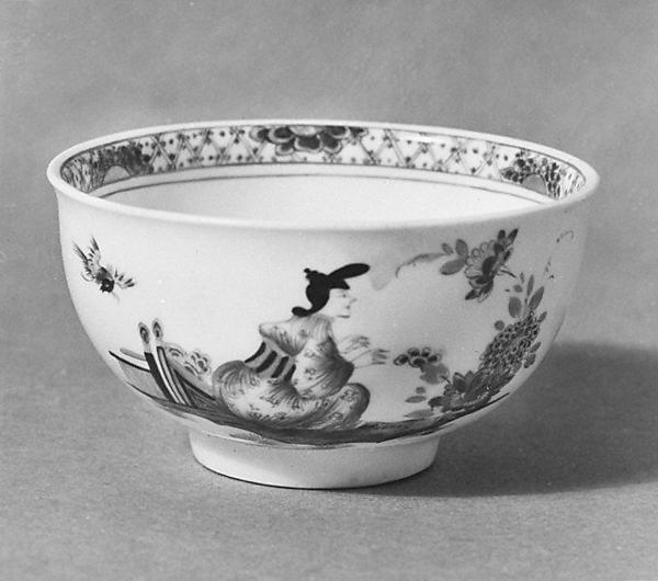 Cup and saucer, Meissen Manufactory (German, 1710–present), Hard-paste porcelain, German, Meissen
