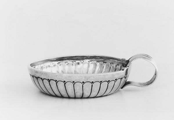 Wine taster, Jacques Hanappier (master 1730), Silver, French, Orléans