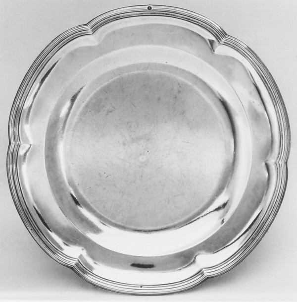 Plate, Robert Joseph Auguste (French, 1723–1805, master 1757), Silver, French, Paris