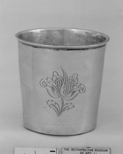 Beaker, Caspar Olsen Rust (1746–1772), Silver, Norwegian, Trondhjem
