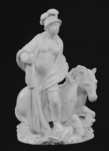 Europe, Mennecy, Soft-paste porcelain, French, Mennecy