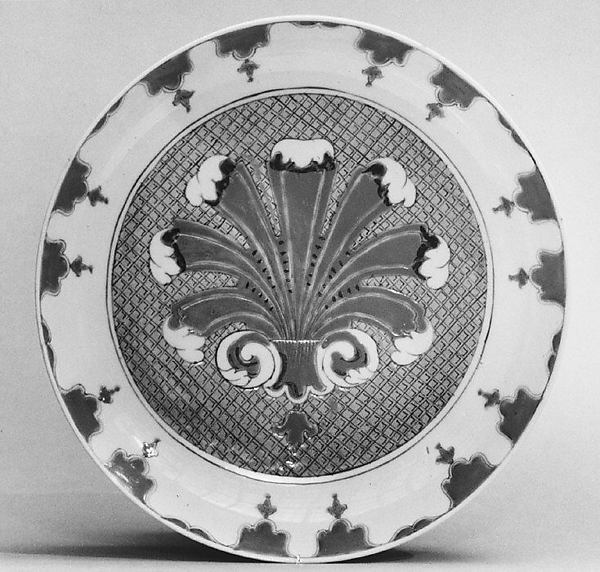 Dish (part of a service), After a design by Cornelis Pronk (Dutch, Amsterdam 1691–1759 Amsterdam), Hard-paste porcelain, Chinese, possibly for Dutch market