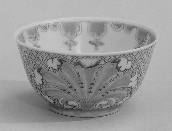 Cup (part of a service), After a design by Cornelis Pronk (Dutch, Amsterdam 1691–1759 Amsterdam), Hard-paste porcelain, Chinese, possibly for Dutch market