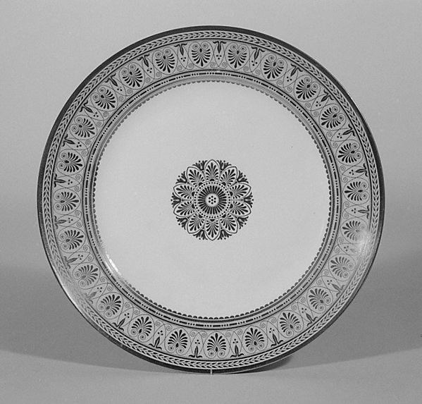 Soup plate, Sèvres Manufactory (French, 1740–present), Hard-paste porcelain, French, Sèvres