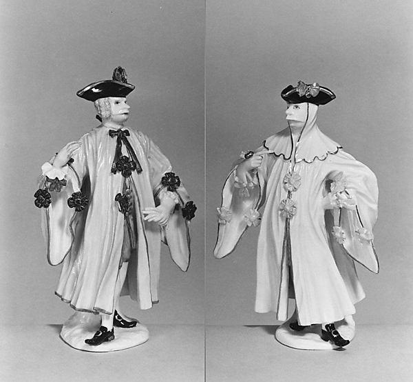 Avvocato (one of a pair), Meissen Manufactory (German, 1710–present), Hard-paste porcelain, German, Meissen