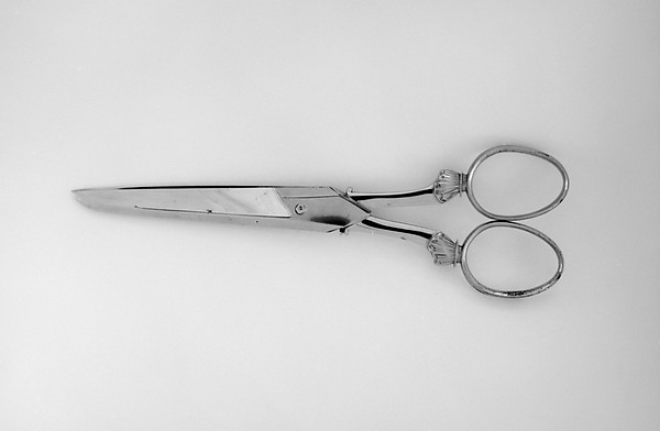 Scissors (part of a set), J. Hobson & Son, England, Steel, Russian