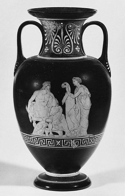 Pair of vases, Frederick Sonne, Terracotta, Danish, Copenhagen