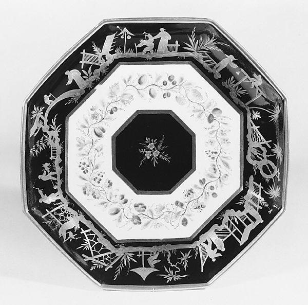 Dish, Sèvres Manufactory (French, 1740–present), Hard-paste porcelain, French, Sèvres