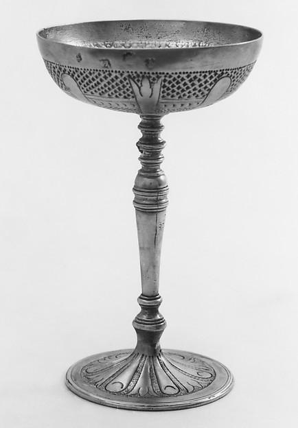Wine cup, R. W., London (ca. 1618–1619), Silver, British, London