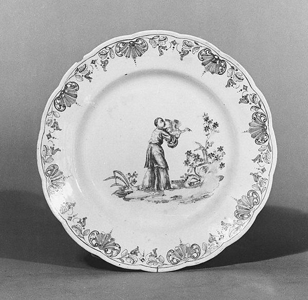 Plate, Vienna, Hard-paste porcelain, Austrian, Vienna