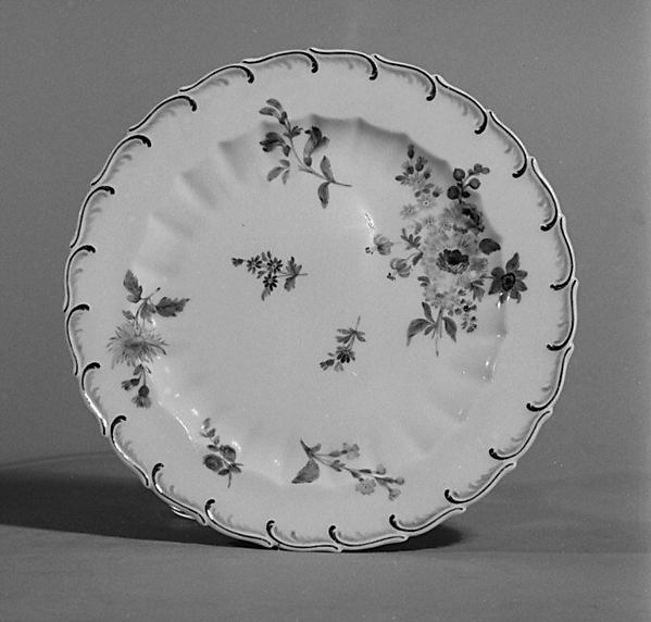 Plate, Probably by Samson, Soft-paste porcelain, French, Paris