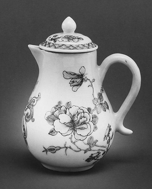 Cream jug, Hard-paste porcelain, Chinese, for British market