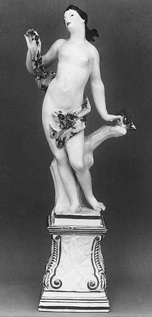 Venus, Meissen Manufactory (German, 1710–present), Hard-paste porcelain, German, Meissen