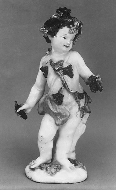 Bacchus, Meissen Manufactory (German, 1710–present), Hard-paste porcelain, German, Meissen