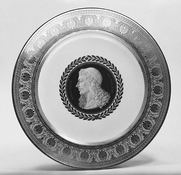 Plate, Sèvres Manufactory (French, 1740–present), Hard-paste porcelain, French, Sèvres