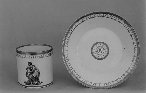 Cup (part of a coffee service), Nymphenburg Porcelain Manufactory (German, 1747–present), Hard-paste porcelain, German, Nymphenburg