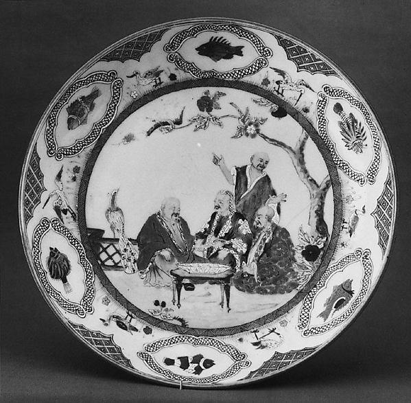 Dish, Attributed to Cornelis Pronk (Dutch, Amsterdam 1691–1759 Amsterdam), Hard-paste porcelain, Chinese, for Dutch market
