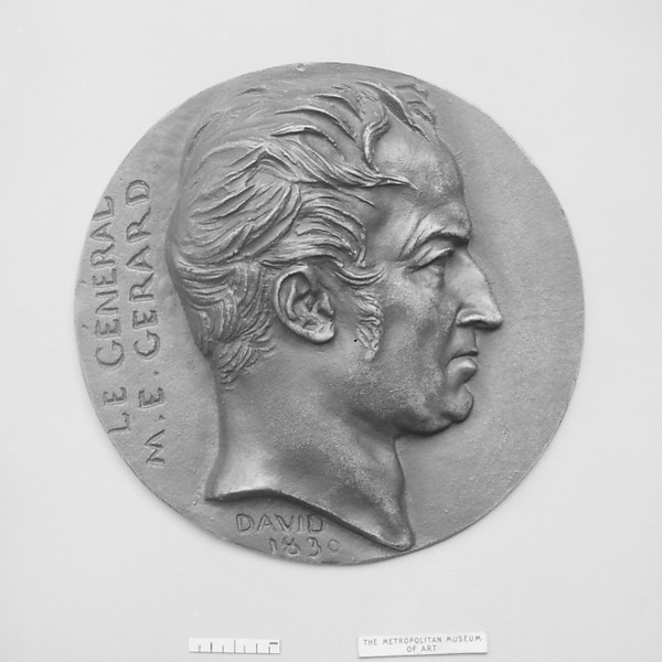 Maurice Etienne Comte de Gerard, (1773–1852), Marshal of France, Pierre Jean David d'Angers (French, Angers 1788–1856 Paris), Bronze, cast - single, French