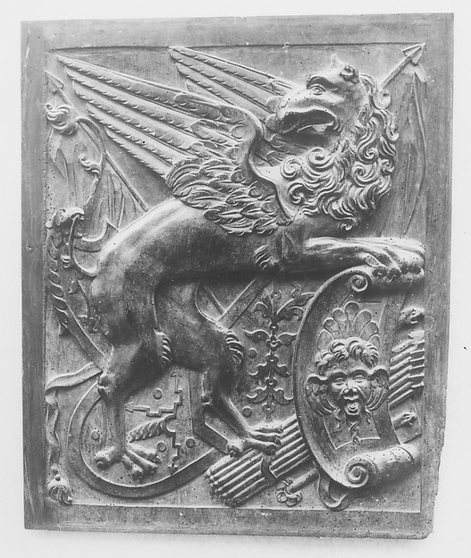 Panel, School of Jean Goujon (French, ca. 1510–ca. 1565 Bologna (?)), Carved walnut, French