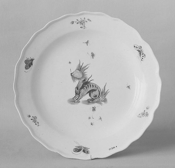 Plate, Meissen Manufactory (German, 1710–present), Hard-paste porcelain, German, Meissen