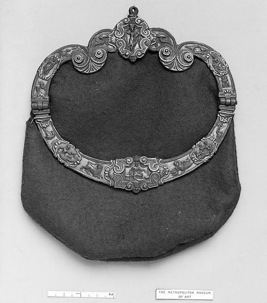 16th century Italian purse frame, The Met.