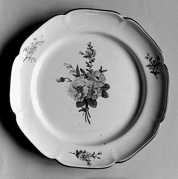 Plate, Niderviller, Faience (tin-glazed earthenware), French, Niderviller