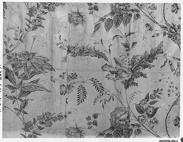 Piece, Bannister Hall (British, founded ca. 1798), Cotton, British, Preston