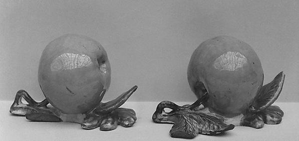 Apple, Tin-glazed earthenware, Dutch, Delft