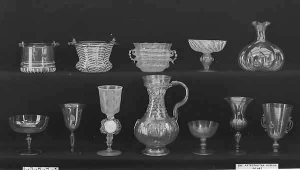 Goblet, Glass, Italian, Venice (Murano)