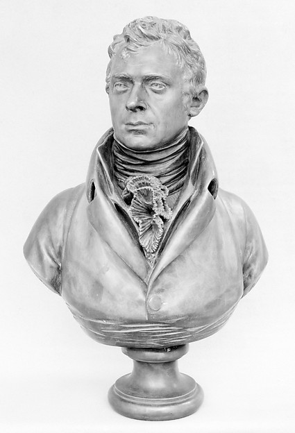 Robert Fulton (1765–1815), After a model by Jean Antoine Houdon (French, Versailles 1741–1828 Paris), Bronze, French