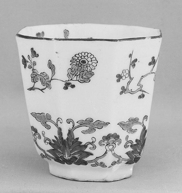 Beaker, Probably by Samson, Hard-paste porcelain, probably French, Paris