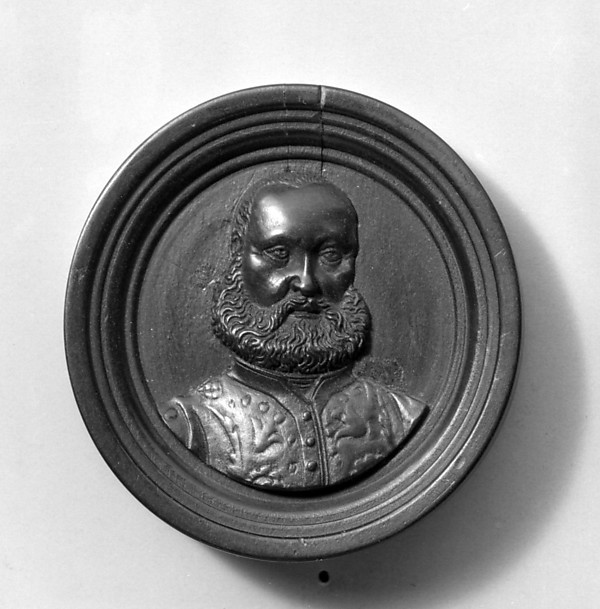 Bust of a man, Boxwood, German