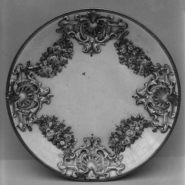 Six saucers (part of a service), Doccia Porcelain Manufactory (Italian, 1737–1896), Hard-paste porcelain, Italian, Florence