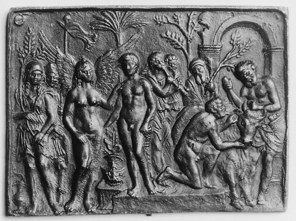 The Triumph of a Hero, Andrea Briosco, called Riccio (Italian, Trent 1470–1532 Padua), Bronze, Italian, Padua