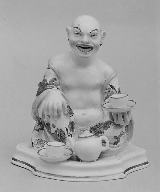 Buddhist Divinity, Meissen Manufactory (German, 1710–present), Hard-paste porcelain, German, Meissen