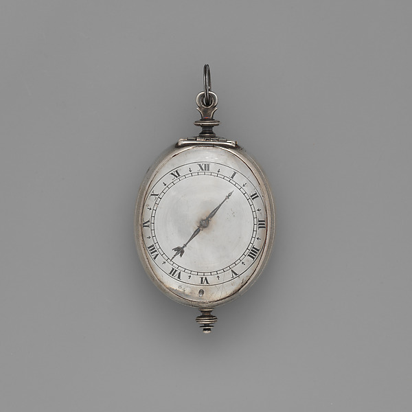 Watch, Watchmaker: Robert Grinkin (British, born after 1605, Clockmakers' Comapny 1632, died 1661), Case: silver; Movement: gilded brass and steel, partly blued, British, London