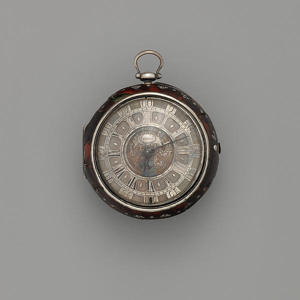 Watch, Watchmaker: Christopher Gould, Silver, tortoiseshell, gilt metal, British, London