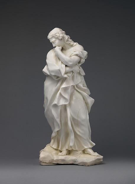 St. John the Evangelist, Capodimonte Porcelain Factory (Italian, 1740/43–1759), Soft-paste porcelain, Italian, Naples