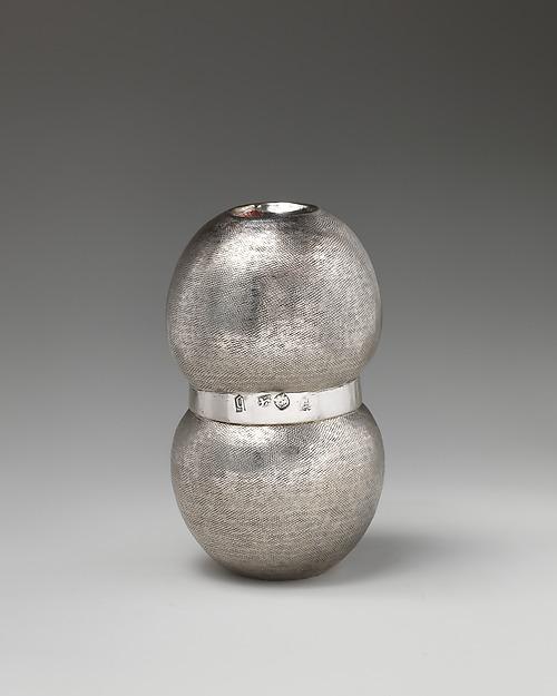 Double cup, Thomas Cory (British, active 1655–89), Silver, British, London