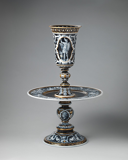 Centerpiece, Minton(s) (British, Stoke-on-Trent, 1793–present), Porcelain, enameled and gilt, British, Stoke-on-Trent, Staffordshire