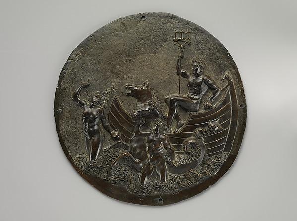 Triumph of Neptune, Manner of Alvise of Padua, Bronze, Italian, Venice