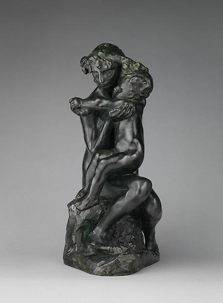 Brother and Sister (Le frère et la soeur), Auguste Rodin (French, Paris 1840–1917 Meudon), Bronze, French