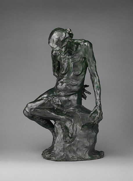 The Old Courtesan (La Belle qui fut heaulmière), Auguste Rodin (French, Paris 1840–1917 Meudon), Bronze, French