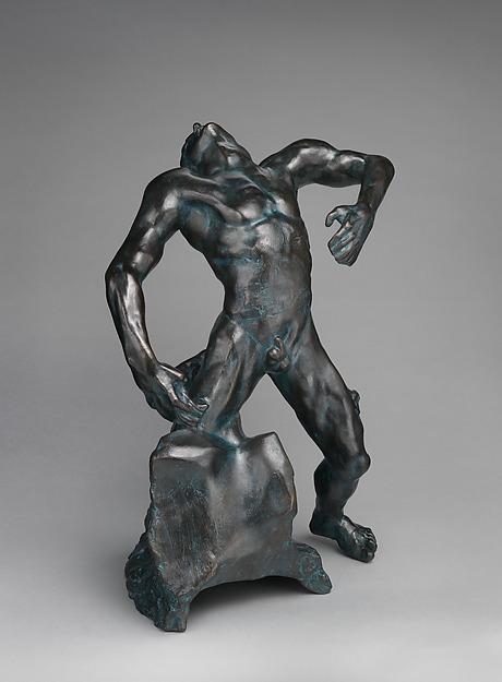 The Falling Man, Auguste Rodin (French, Paris 1840–1917 Meudon), Bronze, French